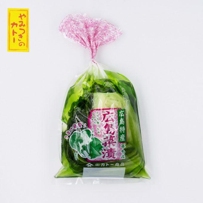 手もみ広島菜200g